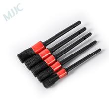 MJJC 5 قطعة أسود قلم رصاص تفصيل فرشاة كيت