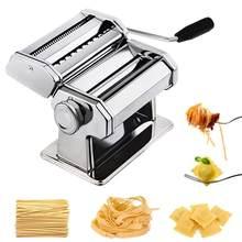 Macarrão fabricante de macarrão aço inoxidável máquina nudeln lasanha espaguete tagliatelle ravioli macarronete fabricante cozinha macarrão ferramenta