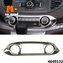 For Honda Crv Cr-v 2012/13/14/15/16-Car Center console Switch button Air Conditioner outlet vent Cover-auto interior accessories