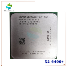 Amd Athlon X2 6400 X2 6400 + 3.2 Ghz ADX6400IAA6CZ Dual-Core Cpu Processor Socket AM2 940pin