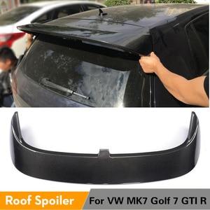 Спойлер для Volkswagen VW Golf 7 VII GTI MK7 R 2014-2019, задний спойлер Winfow Wing губ из углеродного волокна/FRP