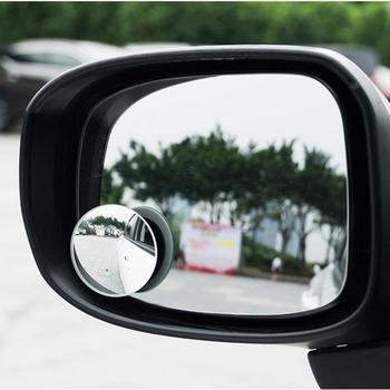 2pcs Hot Sale Car Blind Spot Mirrors Portable Car Round Frameless Blind Spot Parking Mirrors for Auto Side Wing Mirrors image
