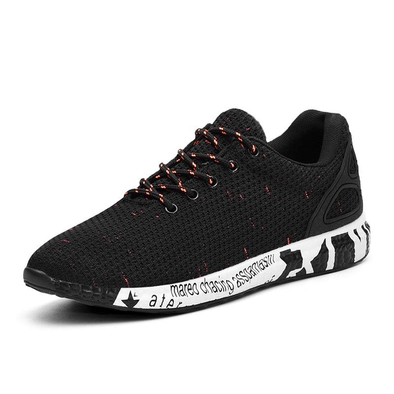 Ev ve Bahçe'ten Ayakkabı Rafları ve Organizatörleri'de 2019 sonbahar yeni stil çok yönlü Trend spor ayakkabı öğrenciler Lace up ayakkabı kore tarzı Casual erkek spor ayakkabı title=