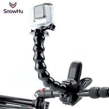 цена на GoPro Accessories Jaws Flex Clamp Mount and Adjustable Neck for  Go Pro Hero 5 5s 4 3+ 3 sjcam sj4000 sj5000 Camera YX152