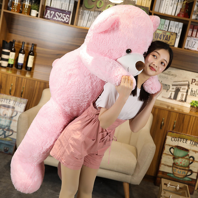 Hot New Lovely Giant American Bear Plush Toy Stuffed Animals Teddy Bear Doll Pillow Kids Girls Popular Valentine Birthday Gift Uncategorized Decoration Kid's Toys Stuffed & Plush Toys Toys