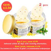 160 Uds Bioaqua máscara De ojos dorada De osmanthus colágeno parche para ojos De gel De suero De proteínas cuidado facial parches para Dormir Mascaras De Dormir