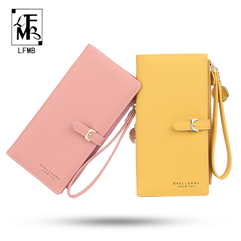 [LFMB]Luxury Leather Short Women Wallet Many Department Ladies Clutch Money Coin Card Holders Purse Slim Female Wallets Cartera