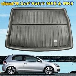 Специальный коврик для багажника Volkswagen VW Golf 5 6 MK5 MK6 Golf GTI R R32 Rabbit 2004-2014