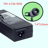 100% NUOVO 19V 4.74A 90w Del Computer Portatile AC DC Power Supply Adattatore di Caricabatteria per HP Probook 4440s 4535s 4530S 4540S 4545s 6470b 6475b 6570b