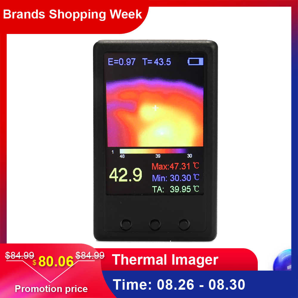 High Quanlity Infrared Thermometer Handheld Thermograph Camera Infrared Temperature Sensor Digital Infrared Thermal Imager