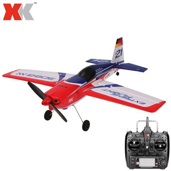 XK A430 Airplane + X6 Transmitter With Brushless Motor 3D6G System 2.4G 5C A-430 Airplane Compatible Futaba S-FHSS RTF