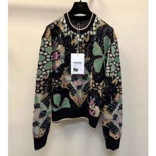 Design Sweatshirt Women Pullover Flower Long-Sleeve Winter Fashion 117409 RUNWAY High-Quality
