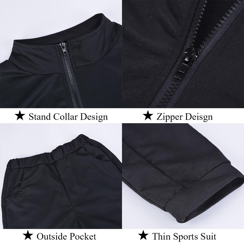 Women 2 Pcs Tracksuit Sports Long Sleeve Sweatshirts Thin Fleece Joggers Suits Running Set Workout Gym Spring Sportswear 3