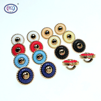 HL 30/50/150pcs 13mm New Synthetic Plating Buttons Shank DIY Apparel Sewing Accessories Shirt Buttons hl 18x15mm 50 100pcs mix color fish shank plastic buttons children s garment sewing accessories diy crafts