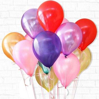 10/20/50Pcs 10inch 1.5g Pearl Latex Balloons Happy Birthday Party Wedding Christmas Decoration Balloon Kids Toy Air Balls Globos 2