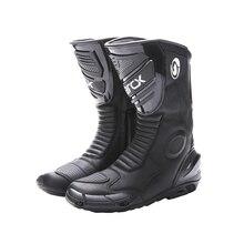 ARCX Botas de moto profesionales para hombre, calzado a prueba de viento, envío gratis, color negro