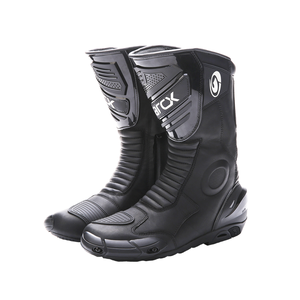 Image 1 - how yes ARCX men motorcycle boots professional motorcross racing boots windproof shoes free shipping  black color