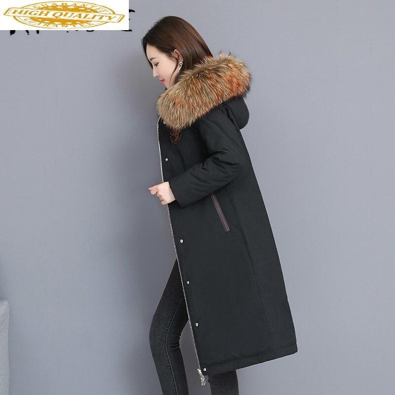 Winter Coat Women Two Side Wear 90% White Duck Down Jacket Women Korean Puffer Jacket 2019 Warm Parka Abrigos YT66150801 YY1637
