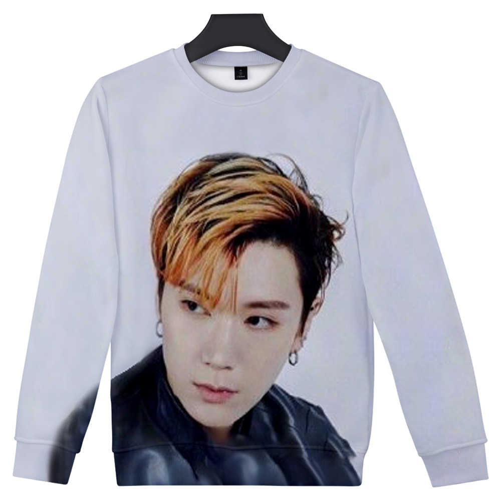 Nieuwe Koreaanse Mode K-POP SuperM BAEKHYUN KAI Mark LUCAS TIEN Taeyong Lee Taemin Sweatshirts Trui Vrouwen Lange Mouw Hoodie Top