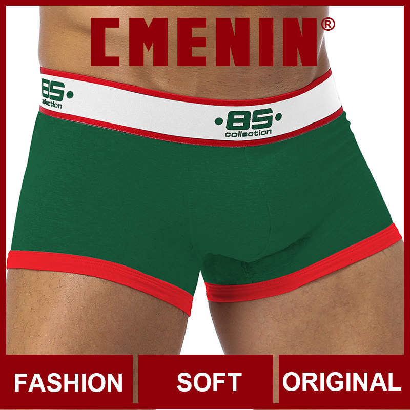 Free Shipping 2020 New Underwear Men Boxers Bamboo Mens Boxershorts Underware Boxer Shorts Trunks Sexi BS