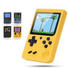 Novo clássico handheld game players console retro caixa de gameboy eletrônico 3.0 polegada tft lcd tela tv av para fora para criança menino presente