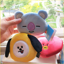 11CM new mini plush wallet small gift bag Korean cartoon child girl
