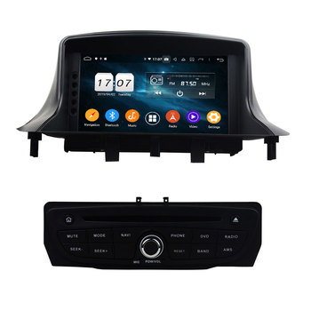 7 Separate Android 9.0 Car Radio 8 Core For RENAULT Megane III Fluence 2009-2016 Multimedia Player 4+64G Audio Stereo 4+32G DSP image
