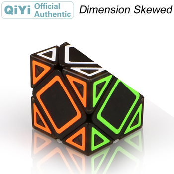 witeden mixup 3x3x4 plus magic cube 334 cubo magico professional neo speed cube puzzle antistress fidget toys for children QiYi Dimension Skewed Magic Cube Skewbed Cubo Magico Professional Neo Speed Cube Puzzle Antistress Toys For Children