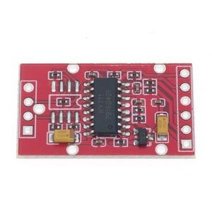 Image 2 - 10pcs HX711 Dual channel 24 bit A/D Conversion Weighing Sensor Module with Metal Shied Free Shipping