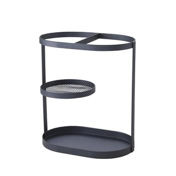 Metal Umbrella Organizer Stand sombrilla playa Fashion Wrought Iron Storage Rack Household Holder with Base Drip Tray Tools
