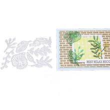 Morning Glory Metal Cutting Dies Flower Leaf Stencils For DIY Scrapbooking Embossing Decorative Die Template