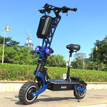 SpeedBike-patinete eléctrico, de 7000W, con motores de doble motor y buena suspensión, Toursor eléctrico
