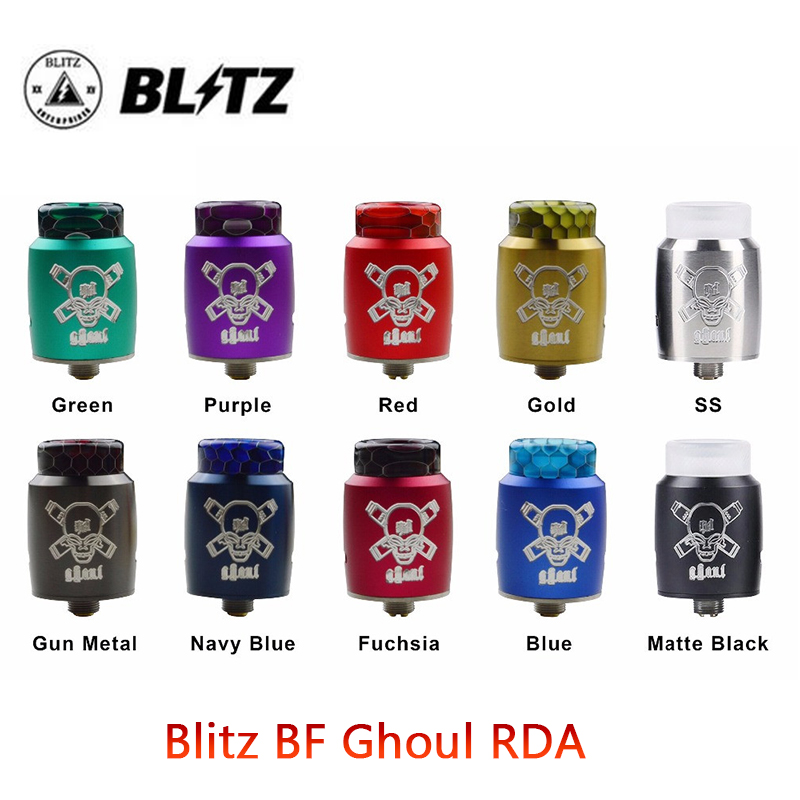 Original Vape Atomizer Blitz Ghoul BF RDA With 22mm Diameter 510 Thread Electronic Cigarette Tank Vs Dead Rabbit/Drop RDA