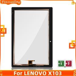 Сенсорный экран для Lenovo Tab 3 10 Plus, сенсорный экран с дигитайзером в сборе для Lenovo Tab 3 10 Plus, X103F, TB, X103, сенсорная панель со стеклом в сборе