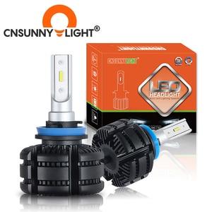 Image 1 - CNSUNNYLIGHTยาวLED H11 H8 ไฟหน้ารถFanless 3600Lm/หลอด 9005 HB3 9006 HB4 สีขาวสีเหลืองLight Foglampรถอุปกรณ์เสริม