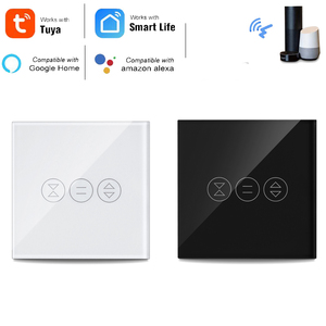 Image 1 - Tuya Smart Life WiFi Curtain Blind Switch for Roller Shutter Electric motor Google Home Alexa Echo Voice Control DIY Smart Home