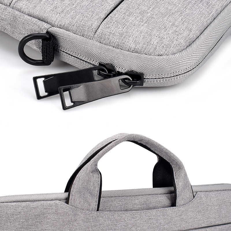 Laptop bag 13.3 15.6 14 inch waterproof case for Macbook Air Pro 13 15 computer shoulder bag briefcase bag+ Send mouse pad
