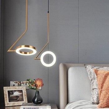 modern deco maison hanging ceiling lamps glass ball LED pendant lights living room luminaire suspendu