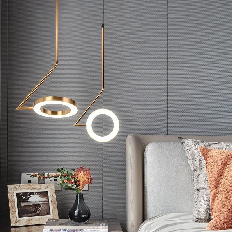 Modern Deco Maison  Hanging Ceiling Lamps Glass Ball LED  Pendant Lights  Living Room  Luminaire Suspendu