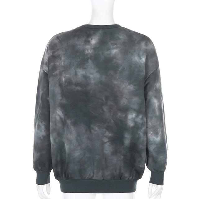 Oversized Sweatshirt in dark gray