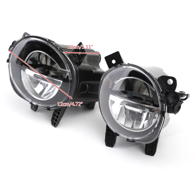 Areyourshop 1 Pair LED Fog Lamp Light For BMW 3 Series F30 F35 2012-2018 63177315559 63177315560 Car Auto Accessories Parts