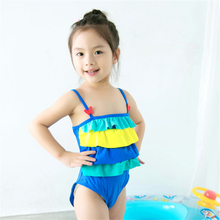 New Model Kid Girls One Piece Swimsuit 1-6 Y Baby Girl Swimwear Children Child Bathing Suits