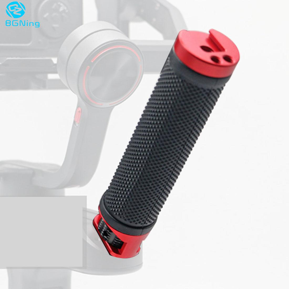BGNING Handle Grip With 1/4  3/8 Cold Shoe Mount For ZHIYUN WEEBILL S WEEBILL LAB Gimbal Handgrip For Monitor Microphone