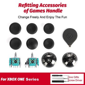 11PCS Repair Tools 3D Joysticks Analog Sensor Module Thumb Sticks Cap Screwdriver Repair Kit for XBOX ONE Controller 1
