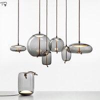 Czech Design Brokis Knot Glass Pendant Lights Minimalist Modern Suspension Luminaire Decor Bedroom Dining Room Kitchen Fixtures