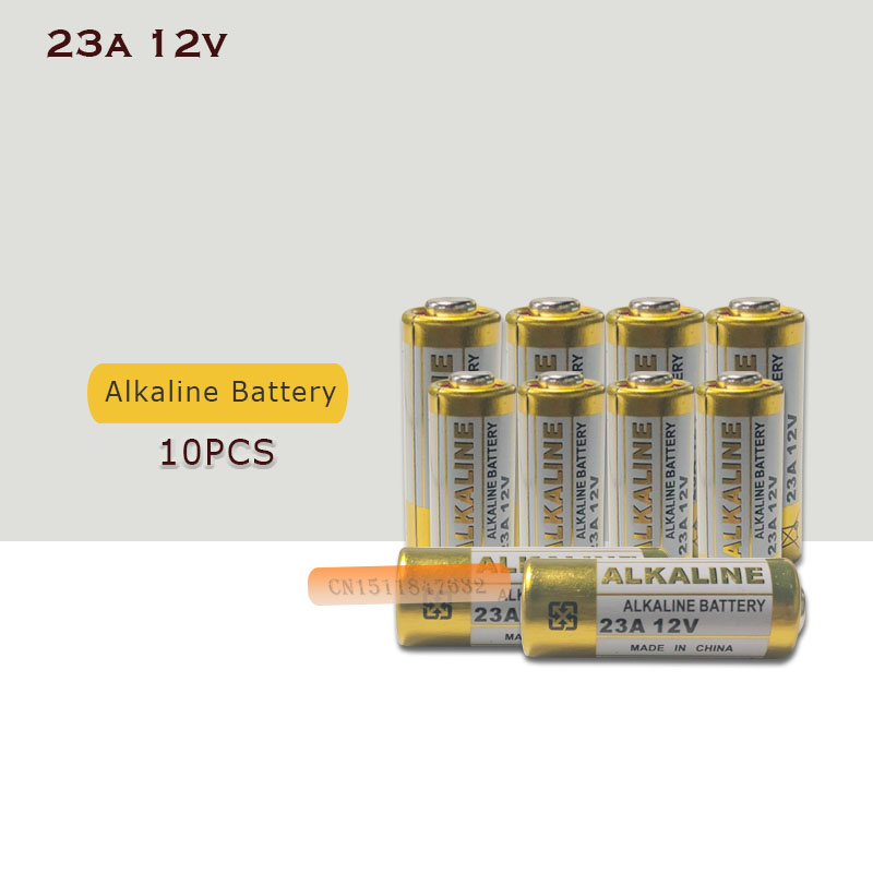 MS21 Dry-Battery L1028 Alkaline MN21 E23A V23GA 21/23-A23 Small 12V 10pcs/Lot