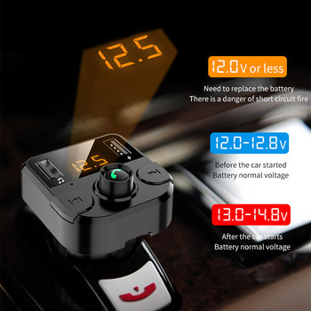 Cargador USB 3.1A Kit de coche Bluetooth 5,0 manos libres inalámbrico FM para Renault Duster Megane 2 3 accesorios