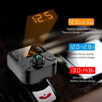 USB Charger 3.1A Car Kit Bluetooth 5.0 Handsfree Draadloze FM Voor Renault Duster Megane 2 3 Logan Clio Fluence Captur accessoires