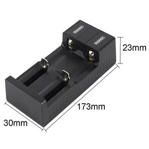 Image 5 - Universal 2 slot Batterie USB Ladegerät Smart Charge 3,7 V für 18650 Ladegerät Akkus Li Ion 18650 26650 14500