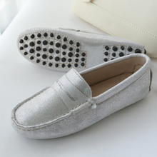 Spring Autumn Fashion Women Flat Shoes Genuine Leather Woman Shoes Soft Moccasins Women Casual Loafers Comfy Driving Shoes genuine leather spring autumn summer woman shoes with a sweet flat tip shoes casual square toe crystal fashion girl shoes metal